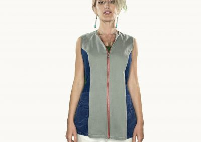 Salad Bowl Dress Utility Vest